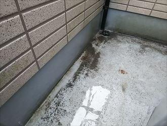 君津市東坂田 雨染み箇所上部の調査