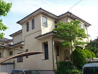 千葉市若葉区加曾利町の屋根塗装前点検