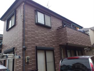 八千代市大和田新田の外壁塗装工事