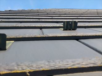 縁切り不要のスレート屋根材