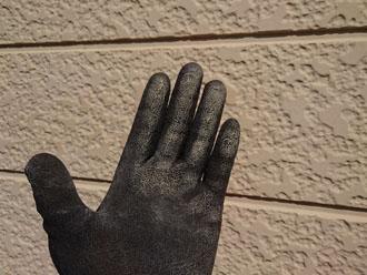 窯業系サイディング外壁 チョーキング現象が発生
