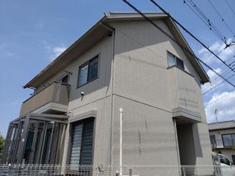 築10年になり初めての屋根外壁塗装工事をご検討されたお客様邸
