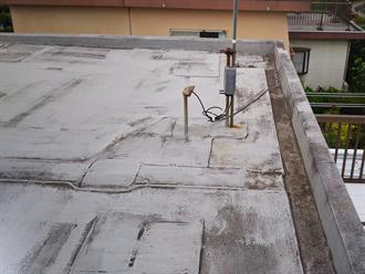 陸屋根防水点検