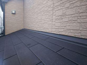 スレート屋根材の点検