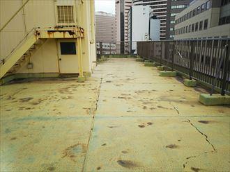 アスファルト防水押えコンクリート仕上げ