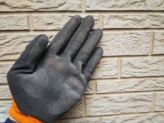 サイディング外壁の塗膜の剥がれ