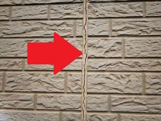 船橋市夏見台にてサイディング外壁のシーリングがひび割れてしまいました