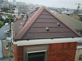 習志野市で屋根塗装点検