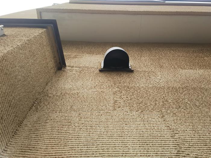 汚れの付着しやすい外壁材
