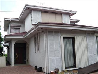 千葉市花見川区幕張本郷の外壁塗装前点検