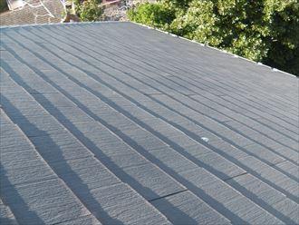 屋根塗装前の千葉市中央区のスレート