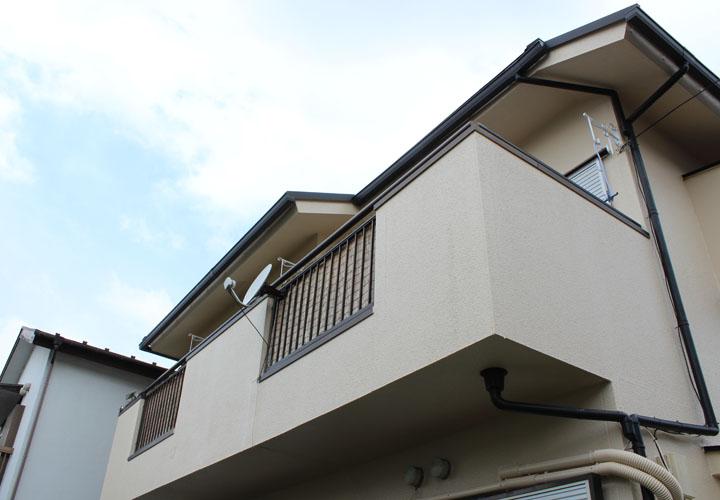 ファインコートSiで外壁塗装を行った邸宅