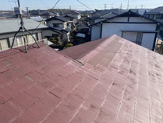 スレート屋根調査、屋根塗装工事