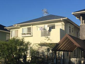 サーモアイ4Fで屋根塗装 完工後の外観写真
