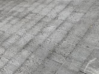 旭市入野にてお住まいの調査、スレート屋根は10年ごとに塗り替えを行うことで綺麗に長持ちさせることができます