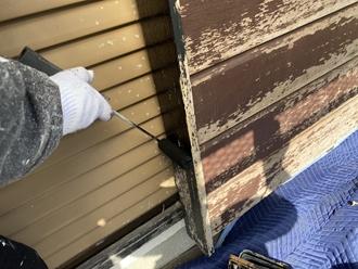 戸袋塗装工事