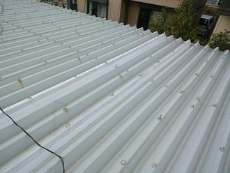 千葉市中央区おゆみ野中央の折板屋根点検