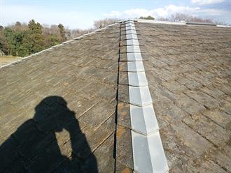 築28年の屋根塗装前点検