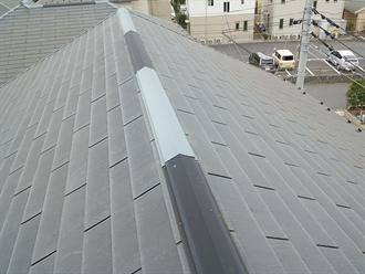 グリシェイドNEOの屋根塗装