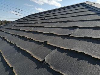 パミール屋根 剥がれ