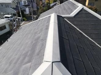 パミール屋根の劣化