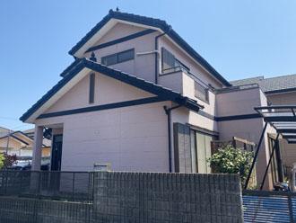 屋根外壁塗装と漆喰工事を検討されている邸宅