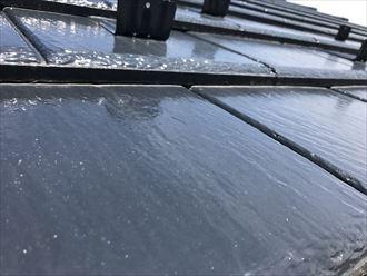 サーモアイSiで塗装を行った1年後の屋根材の状態