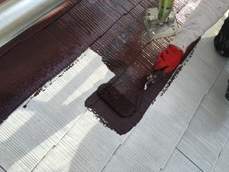 千葉市中央区都町にて日本ペイントさんのサーモアイSiを使用した屋根塗装工事