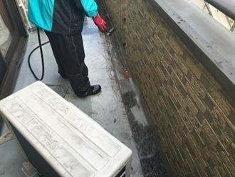 外壁含む細部洗浄