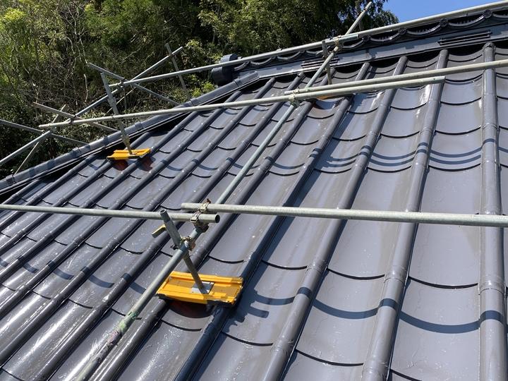 屋根塗装工事が完了