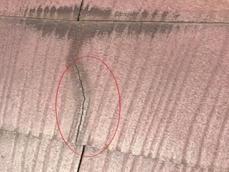 千葉市若葉区桜木町にて経年劣化のスレート屋根、屋根塗装工事のご提案