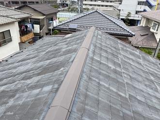 スレート屋根調査