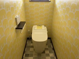 トイレ 内装工事後