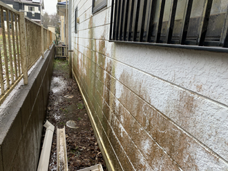 東金市極楽寺で台風の修繕工事に伴い外壁塗装をご検討された邸宅