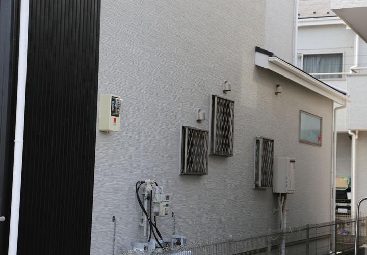 外壁塗装後の窯業系サイディング外壁