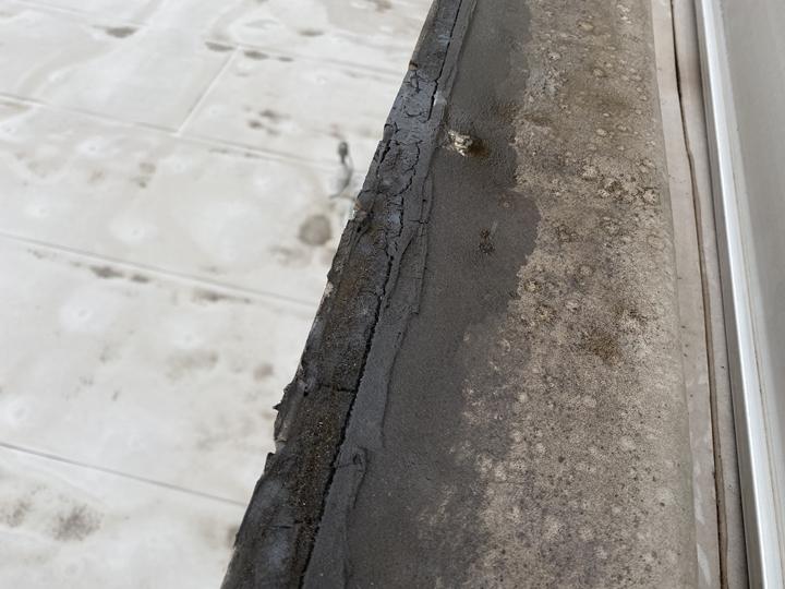 笠木防水の不足