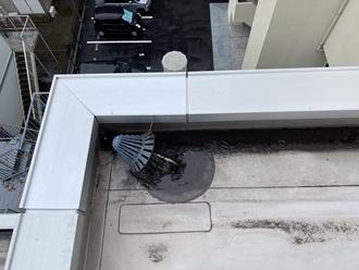 千葉市花見川区幕張本郷にて屋上防水調査、雨漏りする可能性がありました