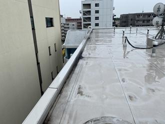 屋上防水の調査