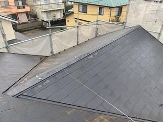 スレート屋根苔カビ
