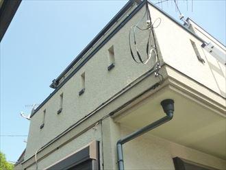 習志野市津田沼の外壁塗装前点検