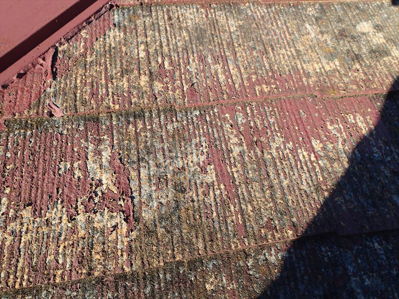富津市 塗膜の剥離