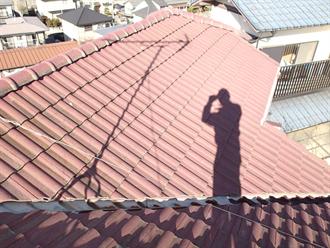 船橋市の屋根塗装前点検