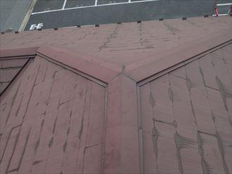 千葉市稲毛区の屋根塗装点検