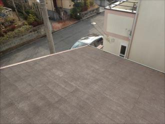 千葉市花見川区み春野 屋根塗装事前調査