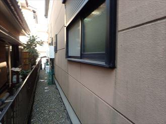 千葉市稲毛区 北側の外壁調査