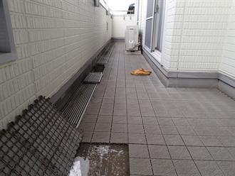 千葉市緑区おゆみ野中央にて防水点検