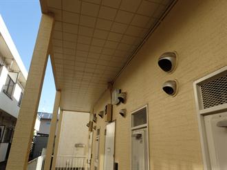 習志野市のアパート塗装点検