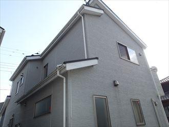 千葉市稲毛区小中台町の屋根外壁塗装前点検