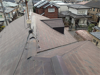 千葉市稲毛区小深町で屋根塗装