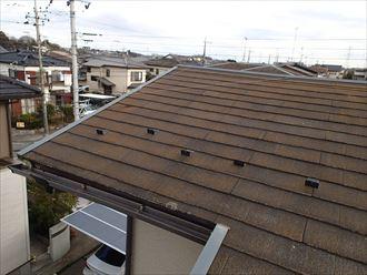 君津市 北側の屋根